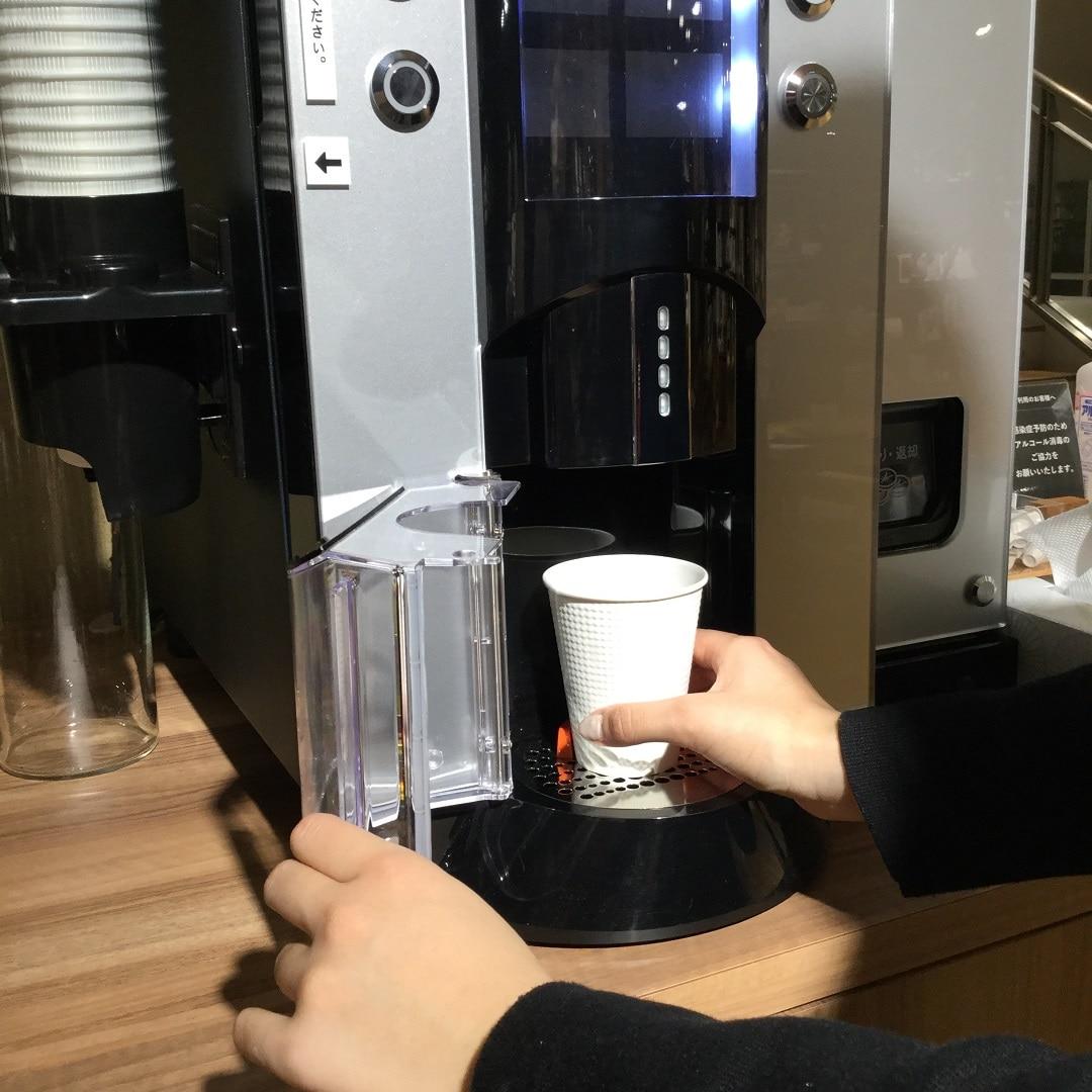 【MUJIキャナルシティ博多】コーヒー手順1