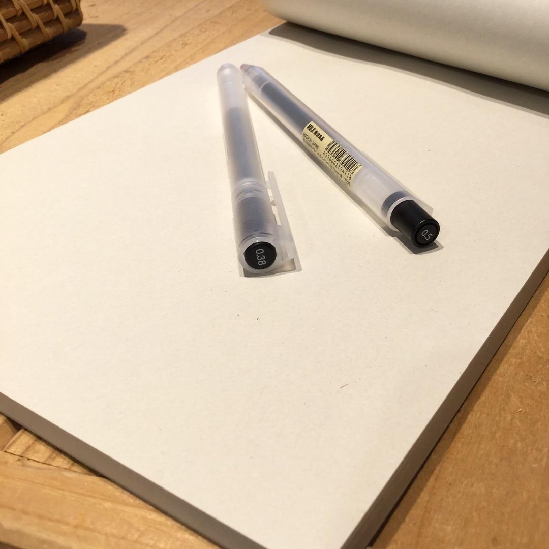 【MUJIキャナルシティ博多】サラサラ描けるゲルインキボールペン