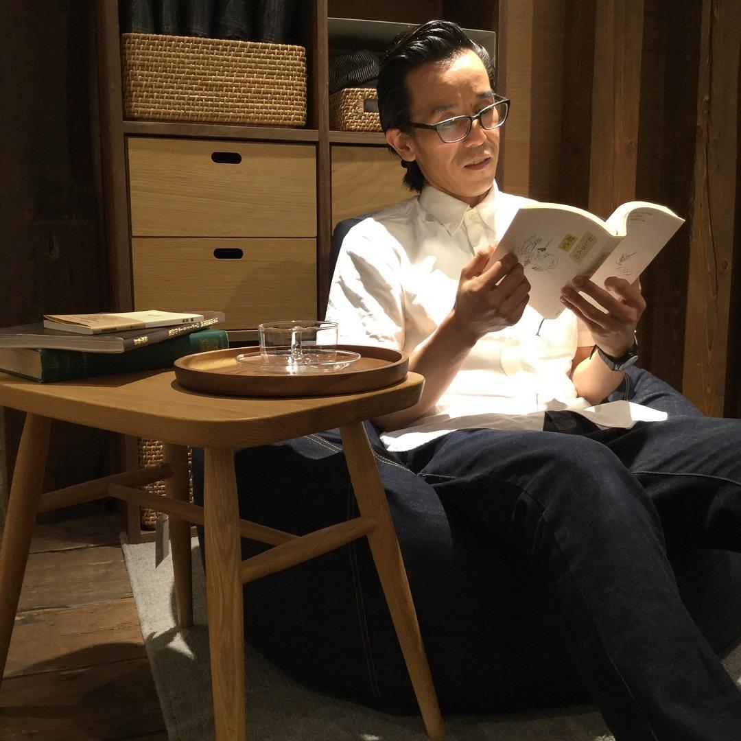 【MUJIキャナルシティ博多】ゆとりの時間本から発見