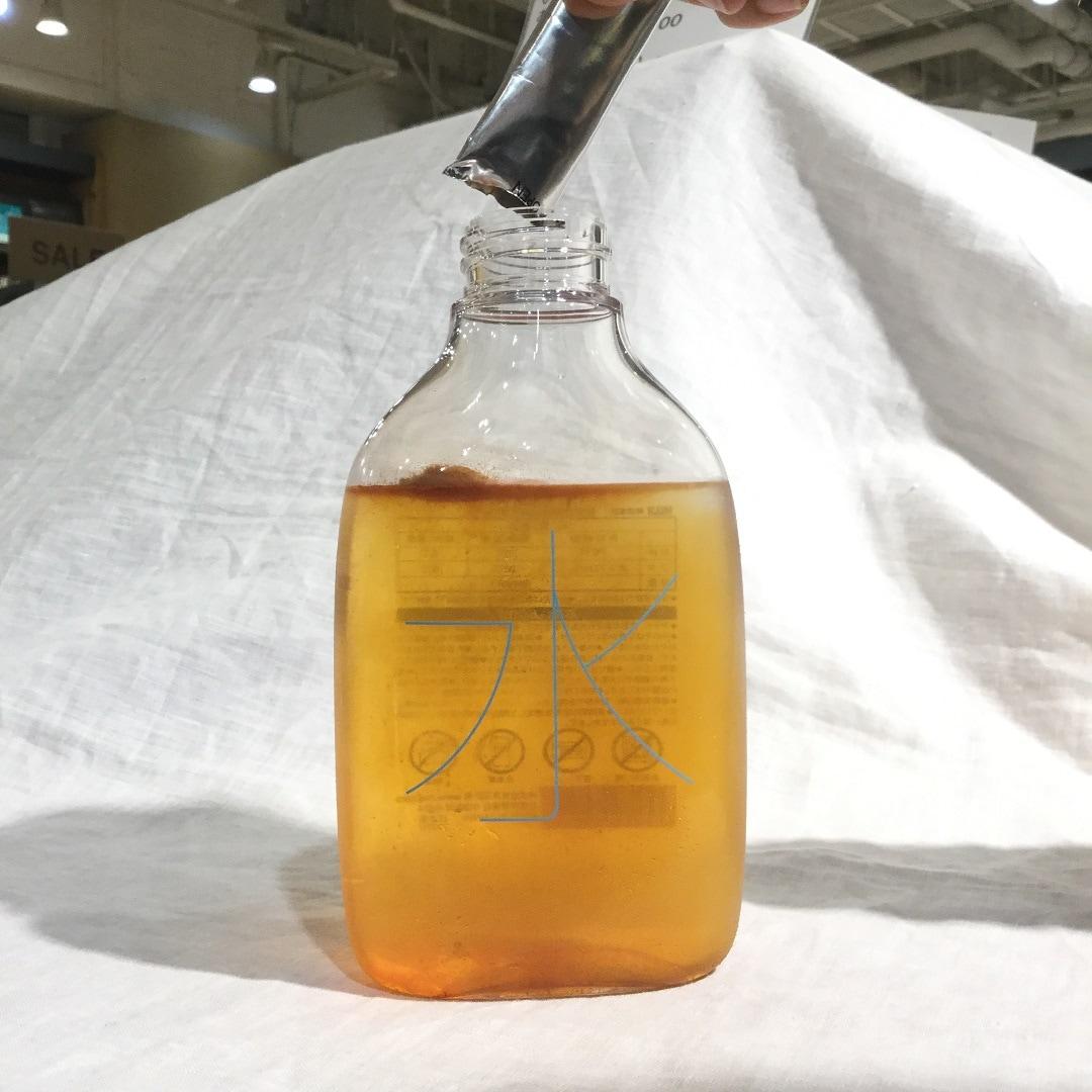 【MUJIキャナルシティ博多】自分で詰める水のボトル用ルイボスティー作り方7