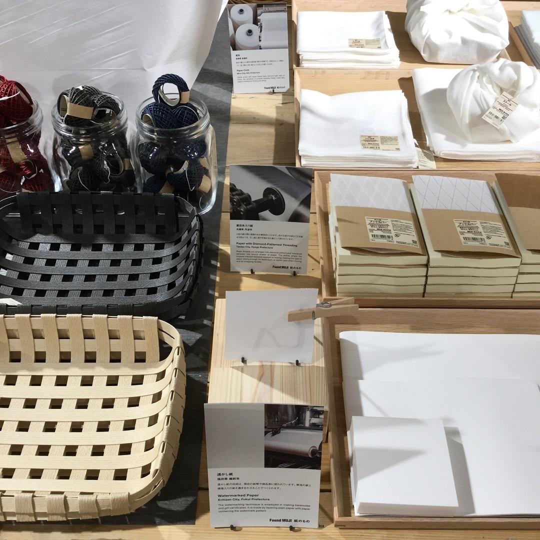 【MUJIキャナルシティ博多】地域技術説明POP