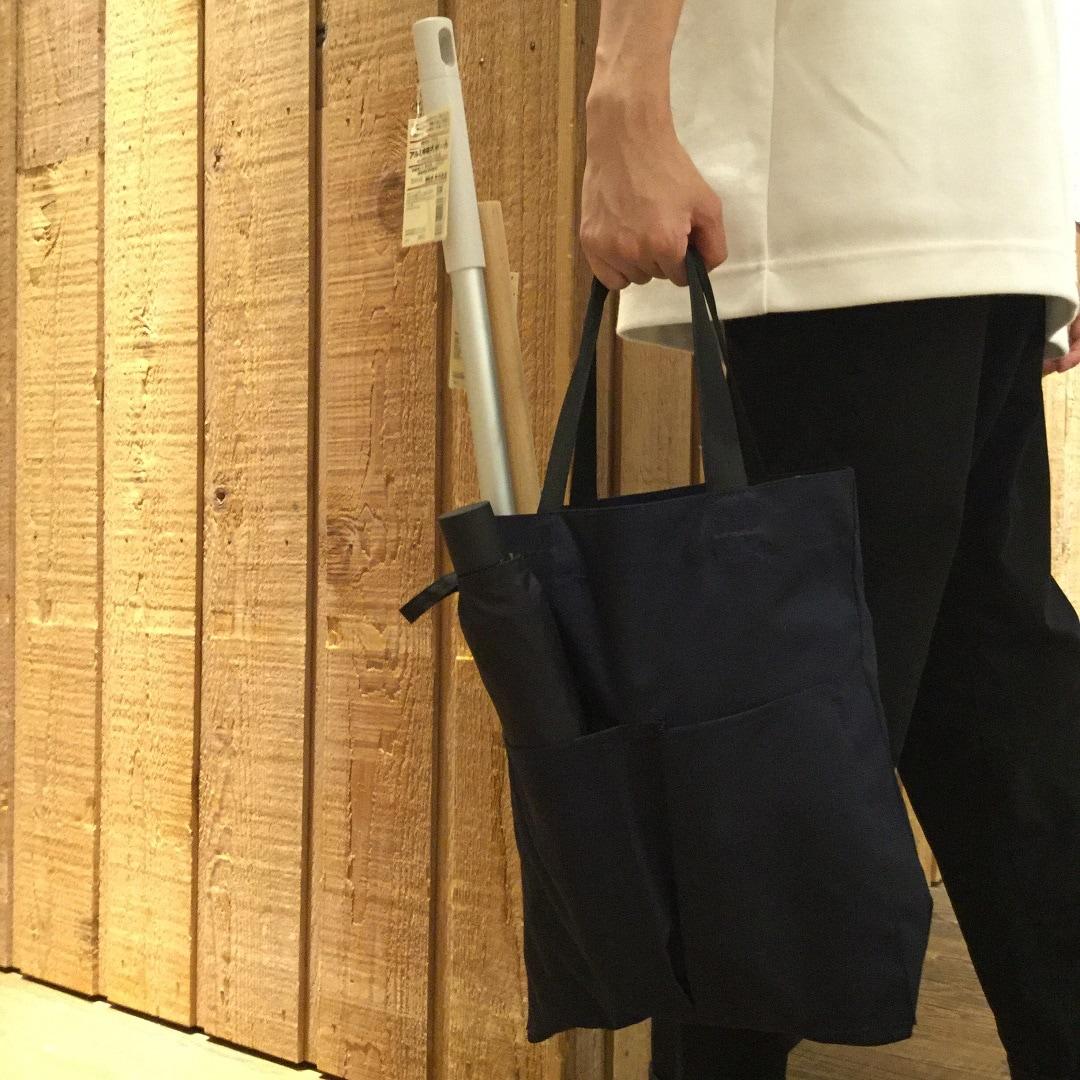 【MUJIキャナルシテ博多】縦型トート3