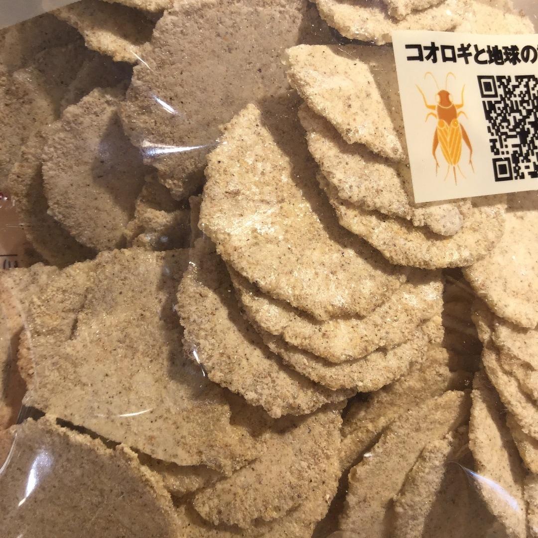【MUJIキャナルシテ博多】コオロギせんべい入荷3