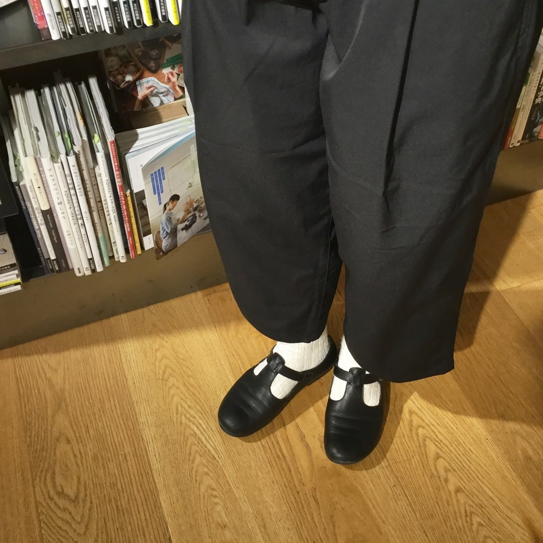 【MUJIキャナルシティ博多】足なり直角ムラ糸靴下3