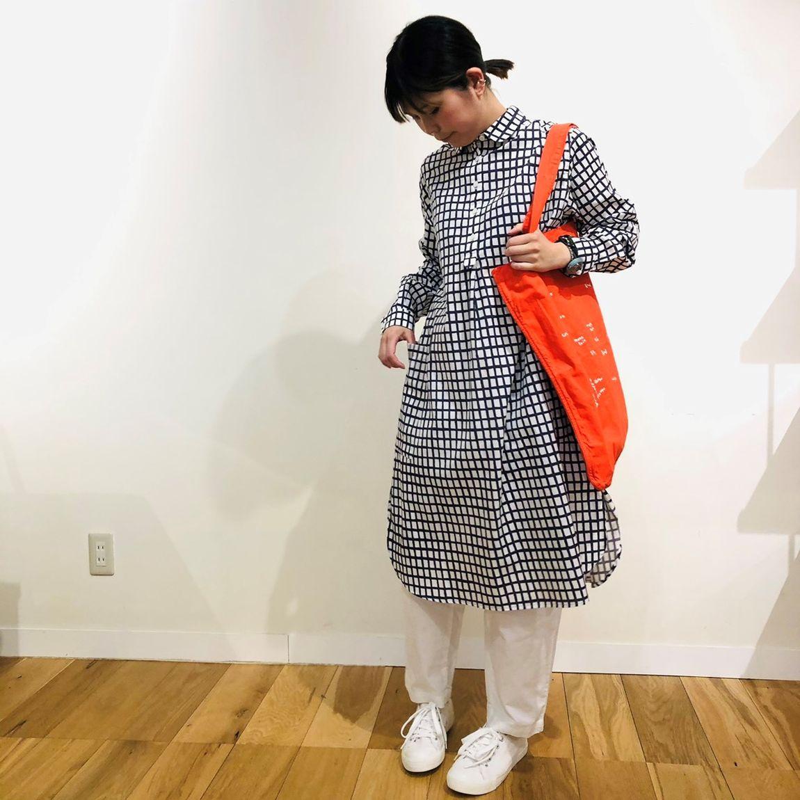 【イデーショップヴァリエテ柏】POOLいろいろの服|コーディネート例