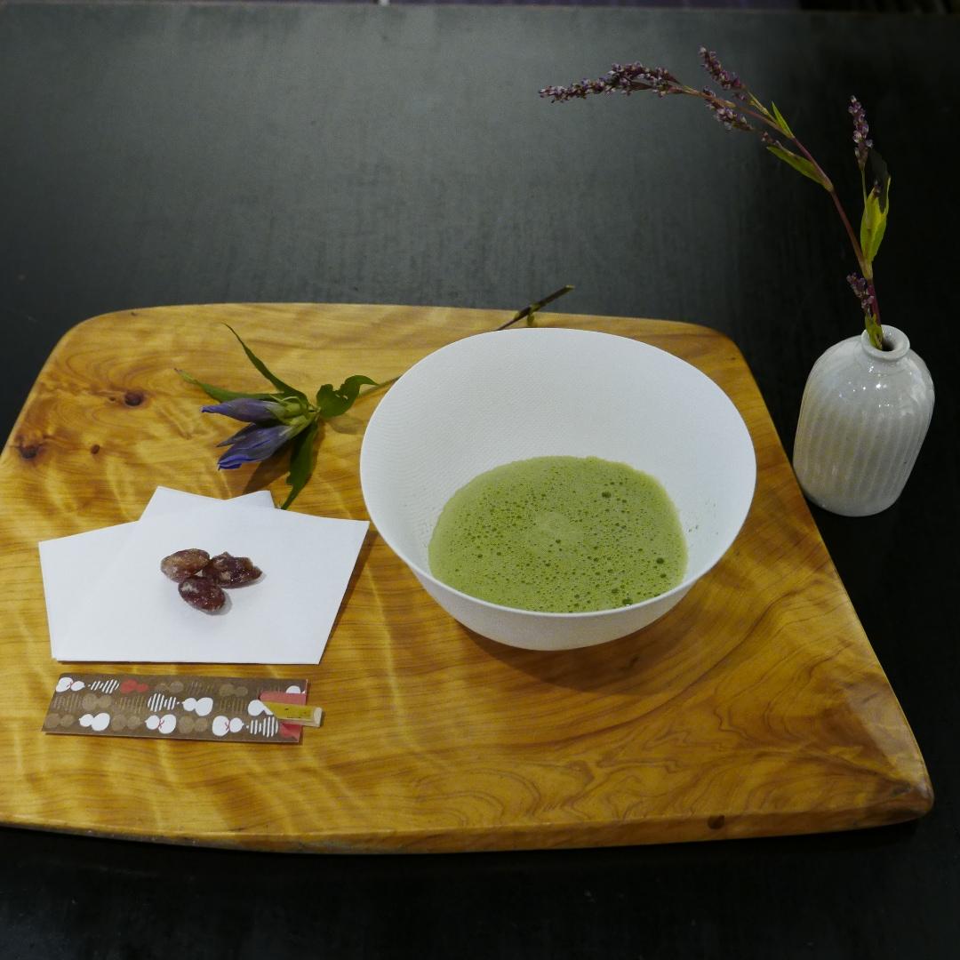 【銀座】 銀座(ひと)めぐり 茶房 野の花