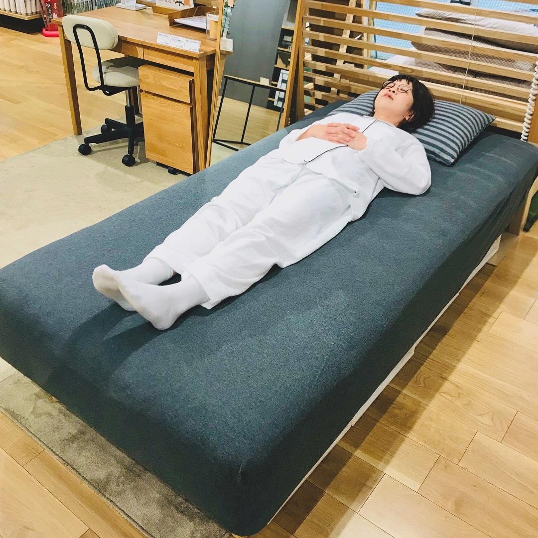 【ゆめ高】脚付マットレスの寝心地