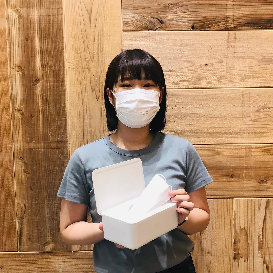 【アピタタウン金沢ベイ】マスクの収納に『片面クリアケース』『ポリプロピレンウェットシートケース』