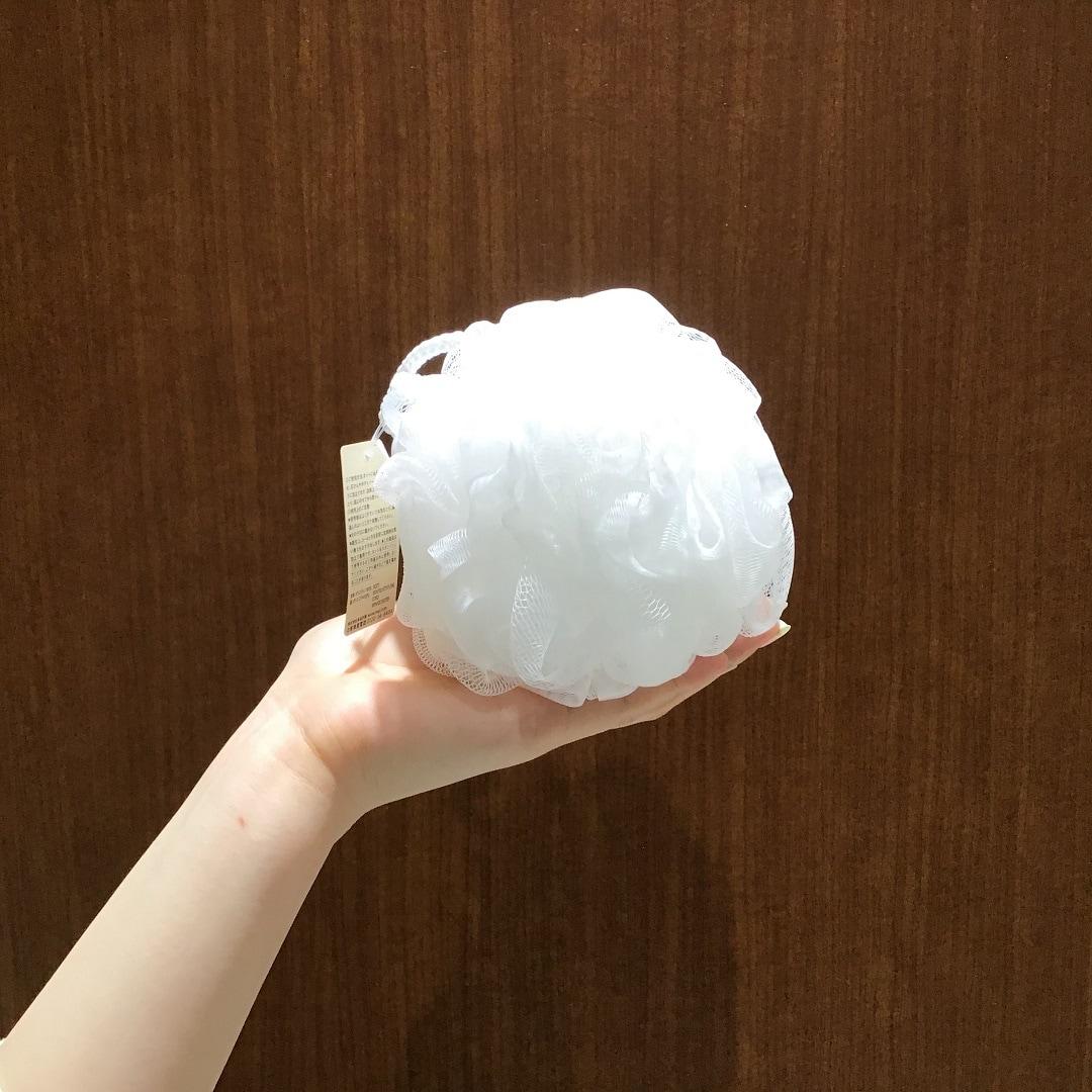 【MUJI com京都ポルタ】泡立てボール|スタッフおすすめ