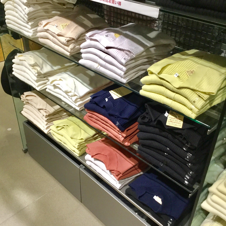 【MUJIcomアトレヴィ巣鴨】春物の衣服4