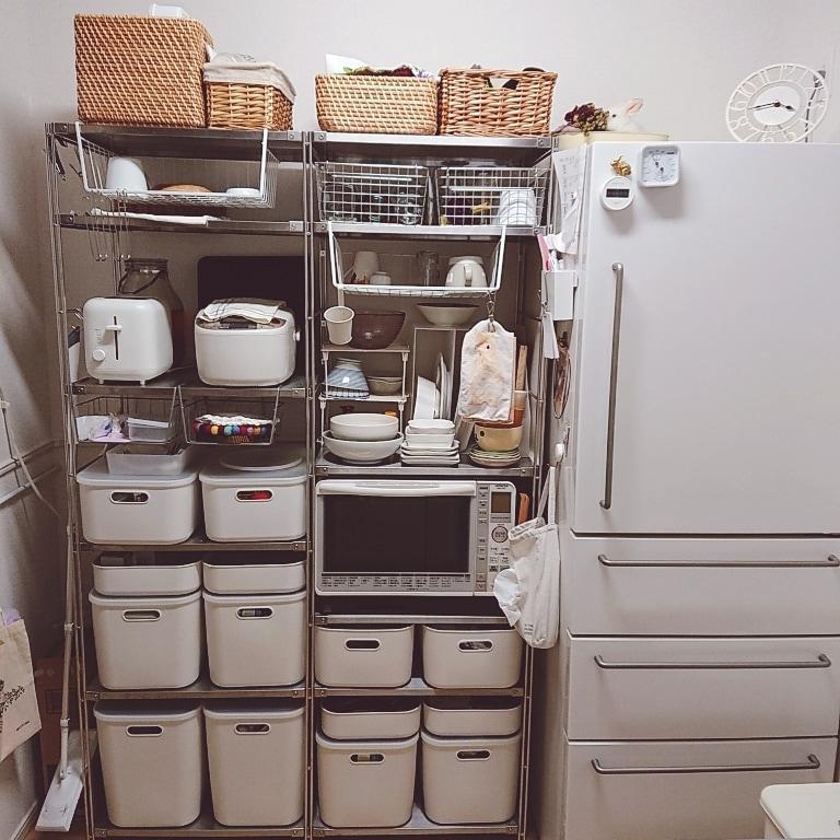 【ゆめタウン山口】ユニットシェルフ2連結の写真