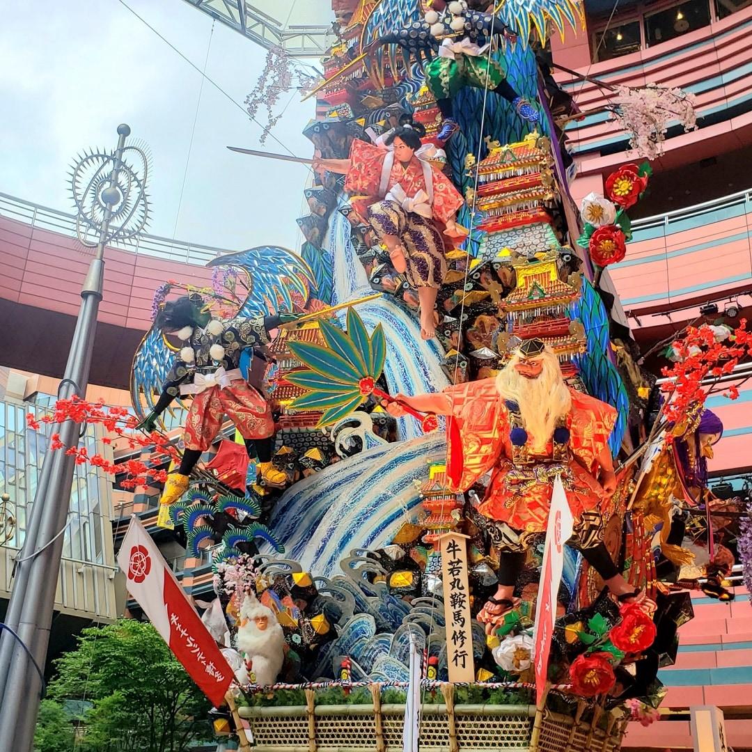 【MUJIキャナルシティ博多】博多祇園山笠|キャナルシティ博多飾り山奉納