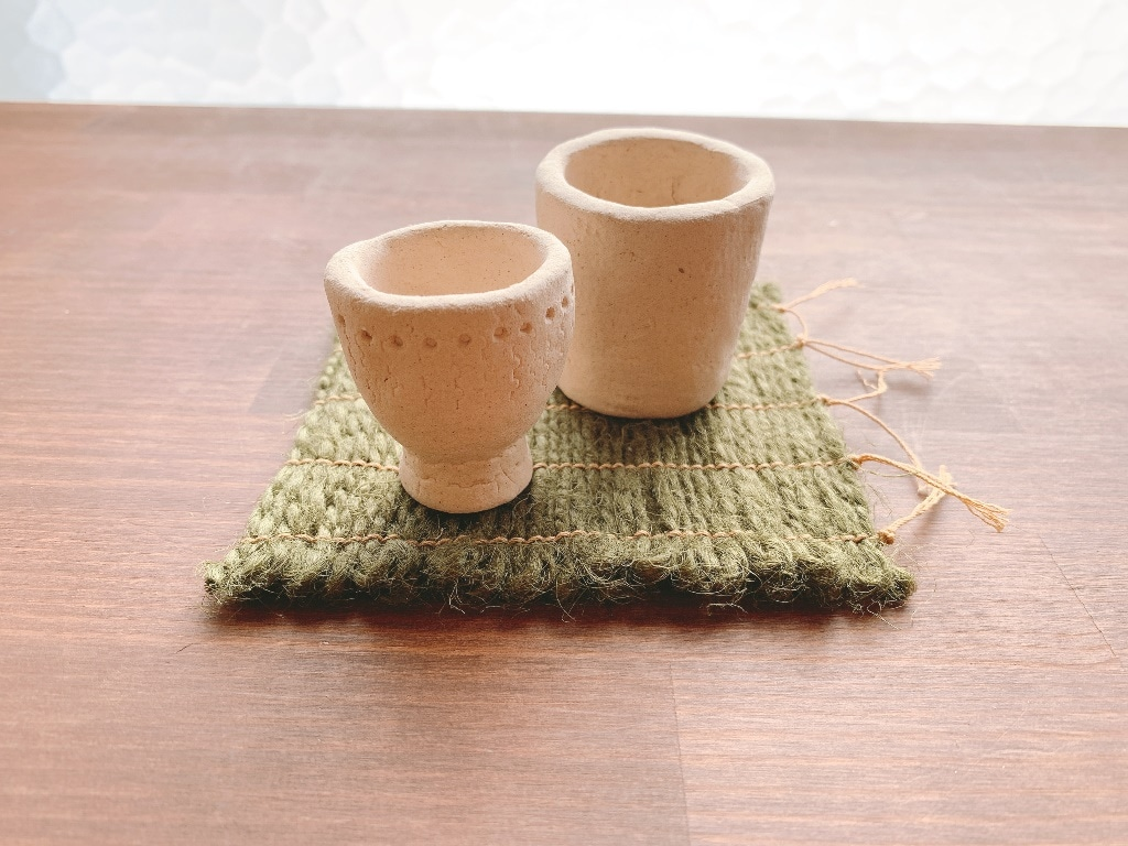 【シエスタハコダテ】ミニ円筒土器作り