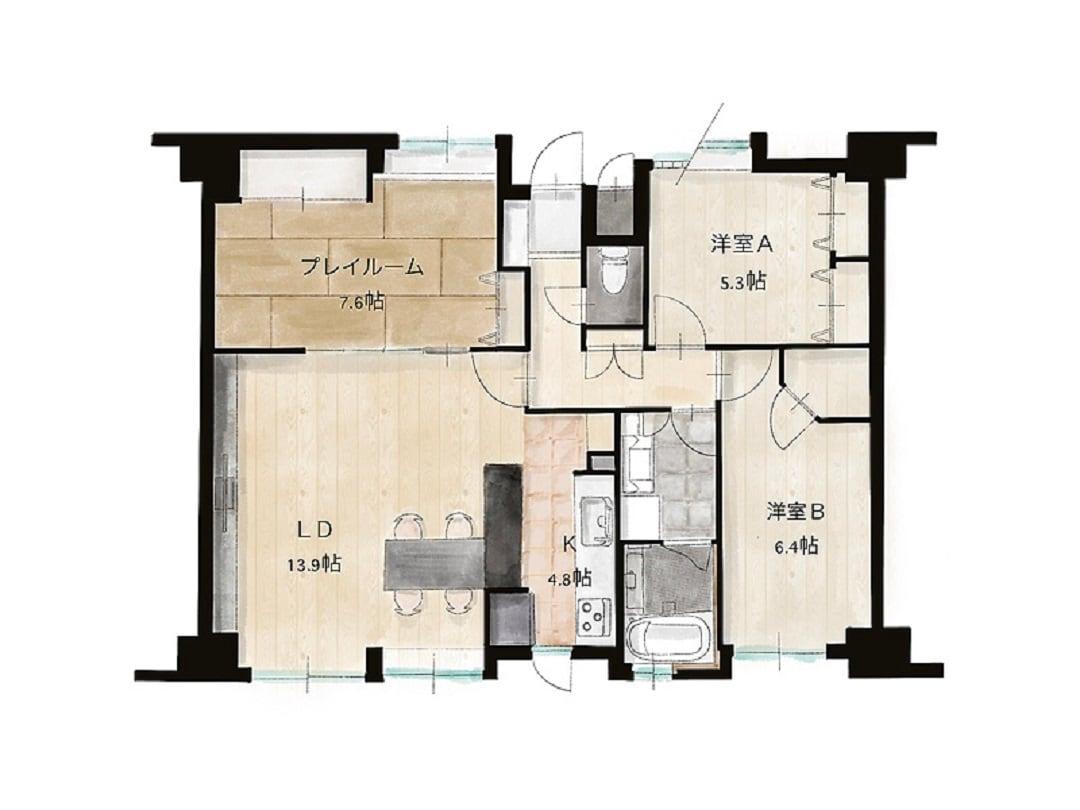 【広島パルコ】施工事例の紹介 図面