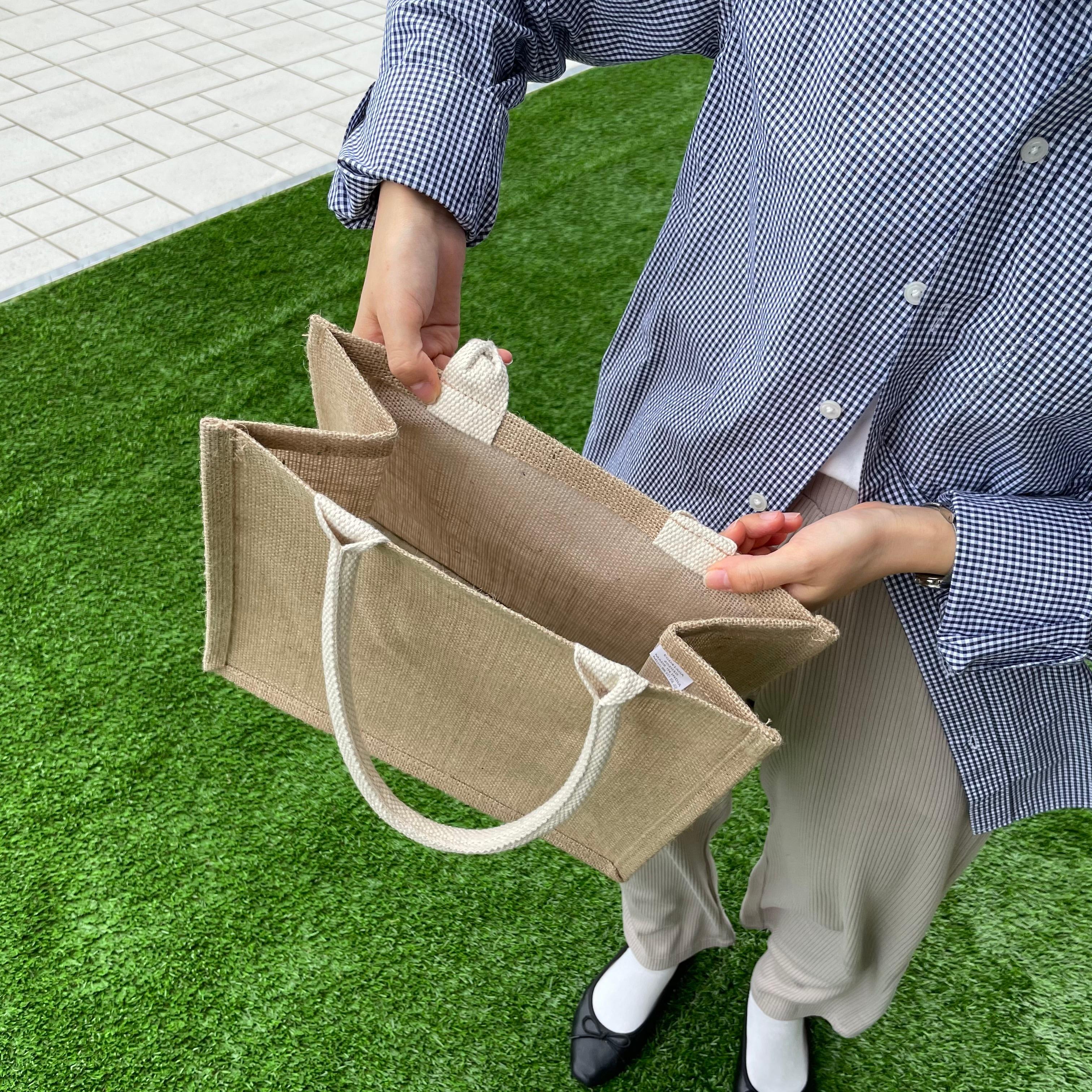 【イオンモール京都桂川】ジュートマイバッグ