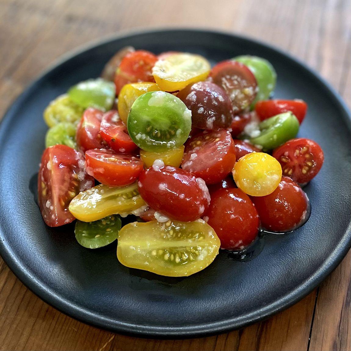 トマト調理例