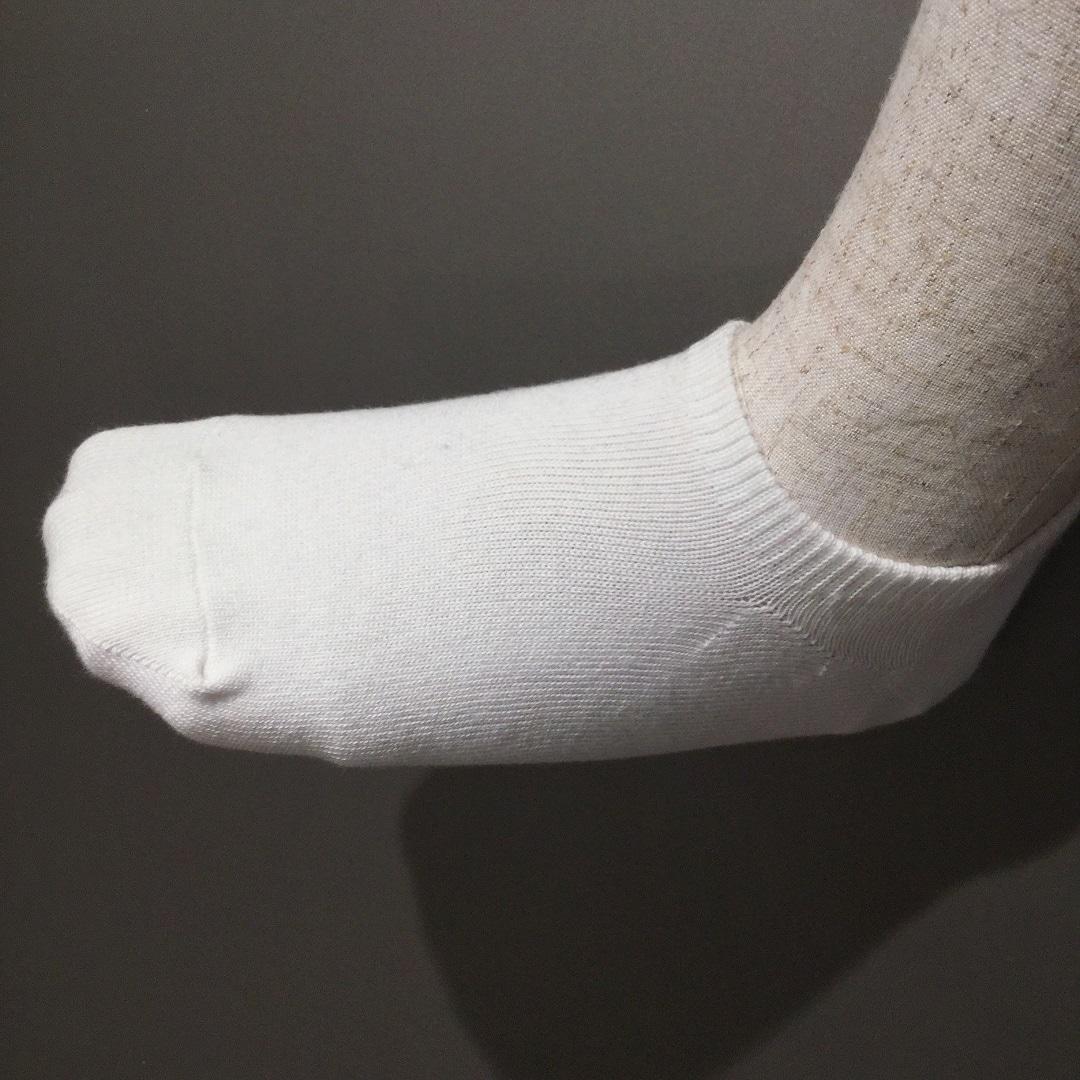 足なり直角 スニーカーイン靴下