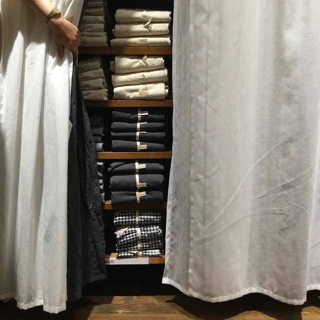 【MUJIキャナルシティ博多】カーテンを着せ替えませんか 選び方・測り方特集