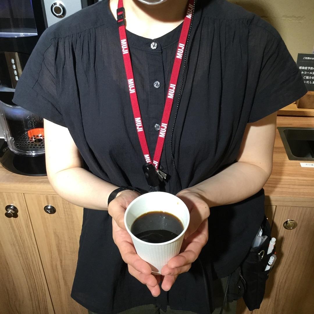 【MUJIキャナルシティ博多】100円コーヒー再開