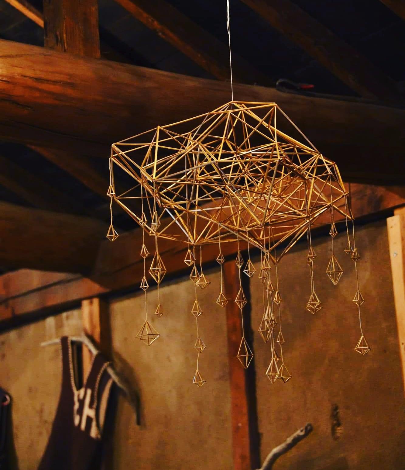 【イオンモール松本】 つながる市 ライ麦を使ったヒンメリづくりワークショップ