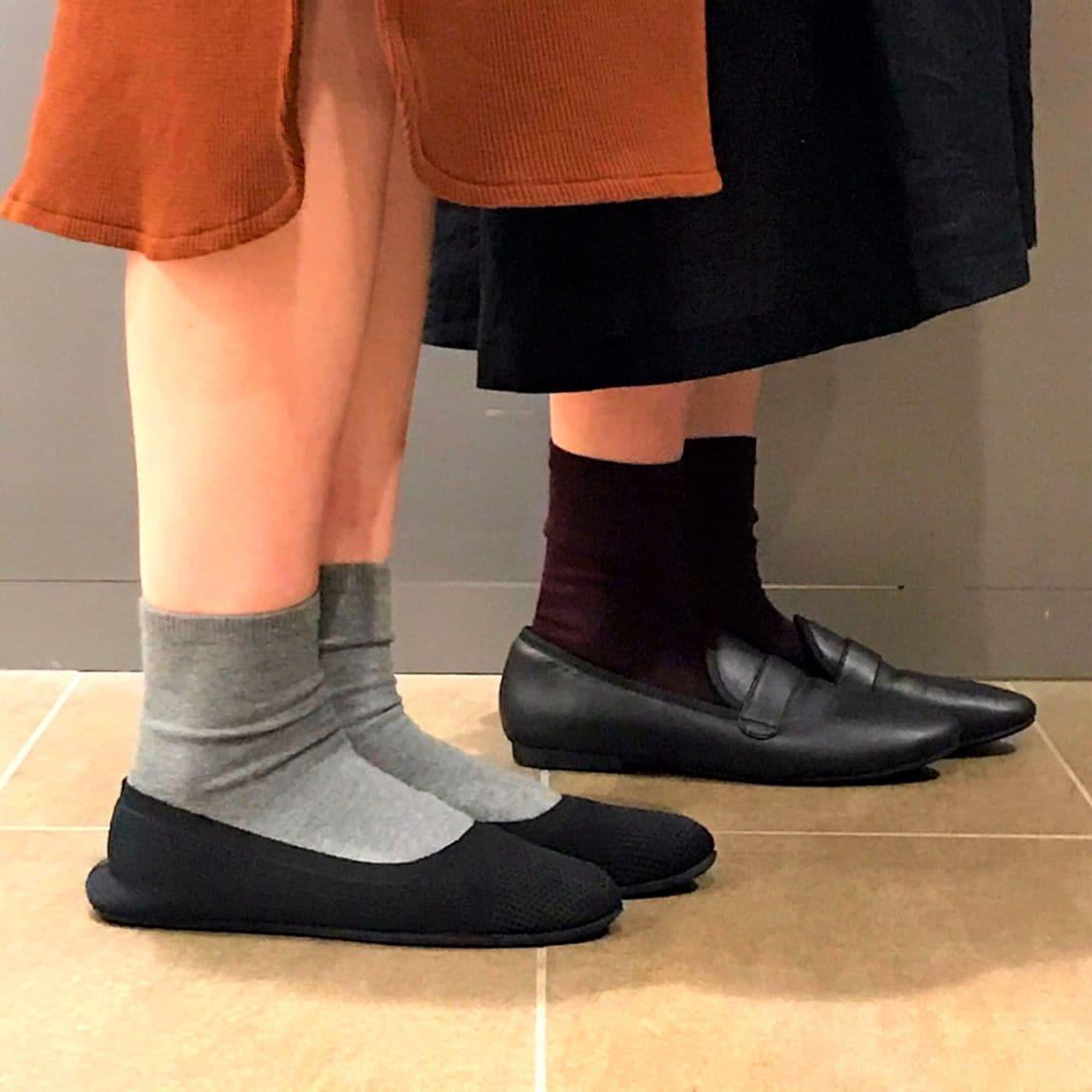 【イオンモールKYOTO】靴下履いています