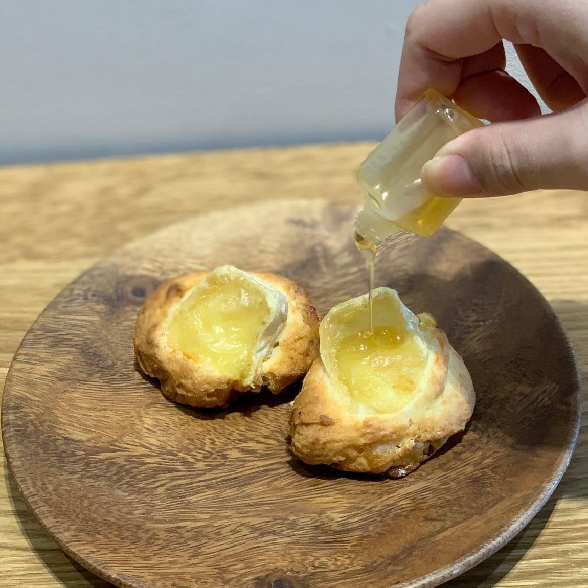【堺北花田】雅蜂園の蜂蜜を使ったパン ベーカリー売場から