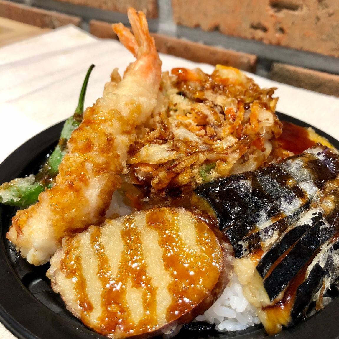 【堺北花田】丼ぶり鉢には入ってないけれど。『具だくさん 天ぷらDON』