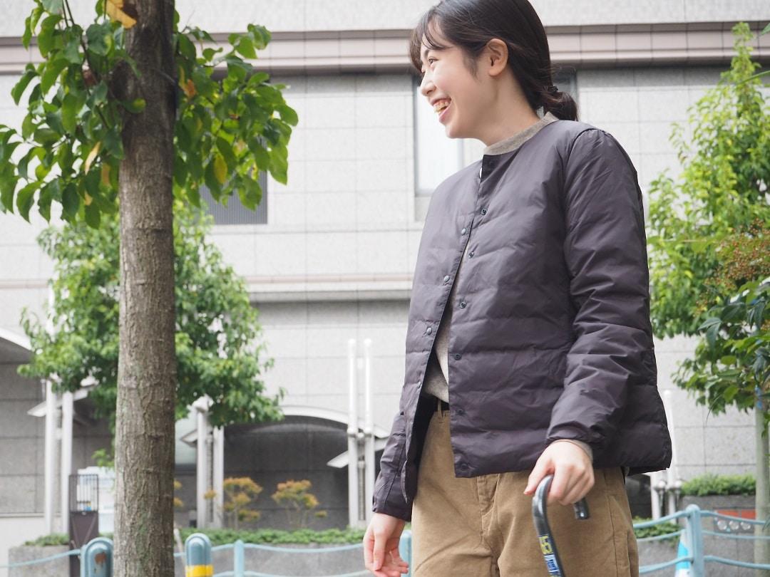 【京都山科】軽量ダウンであたたかい|スタッフコーディネート