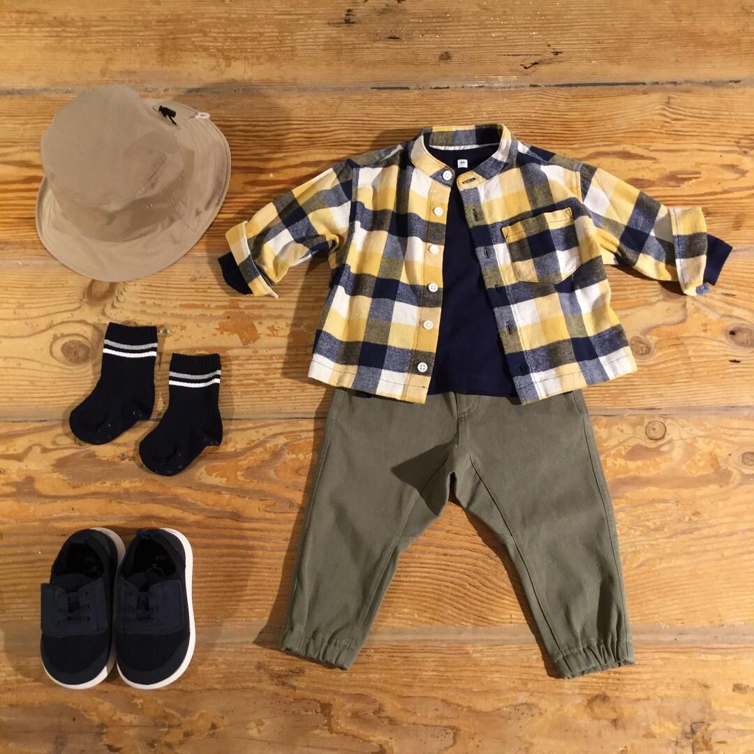 【MUJIキャナルシティ博多】フランネルスタンドカラーシャツ|ずっと、見直し。
