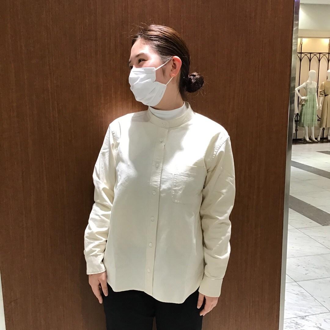 【MUJI com京都ポルタ】オックスシャツ スタッフのおすすめ