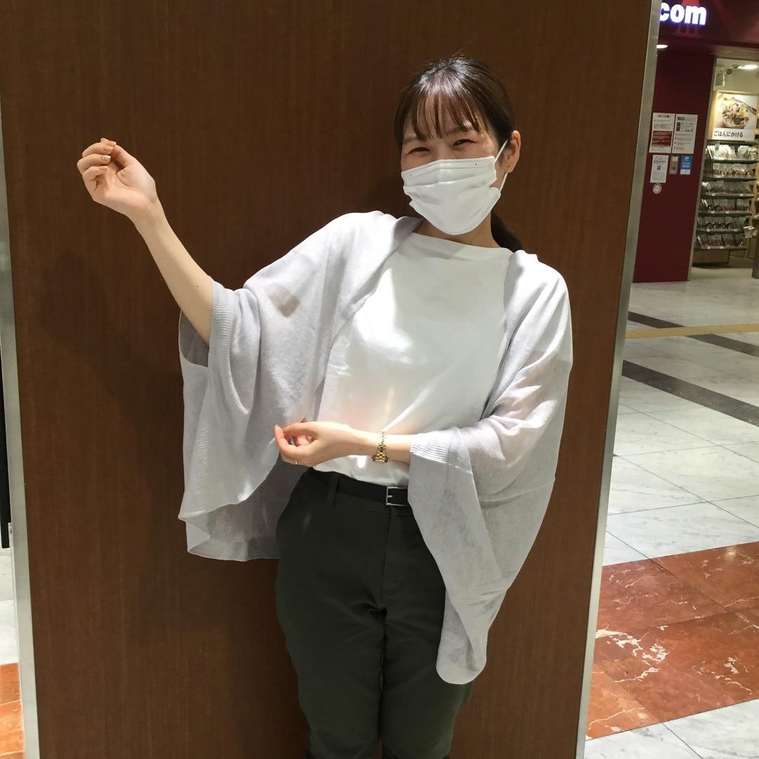 【MUJI com京都ポルタ】毎日着たい。無印良品の定番Tシャツ990円-ムラ糸-