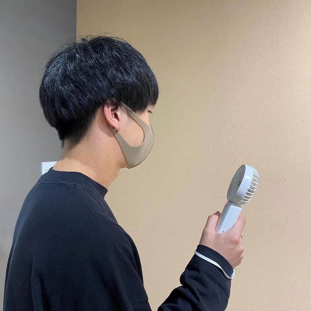 【COCOSA熊本下通】ハンディファン