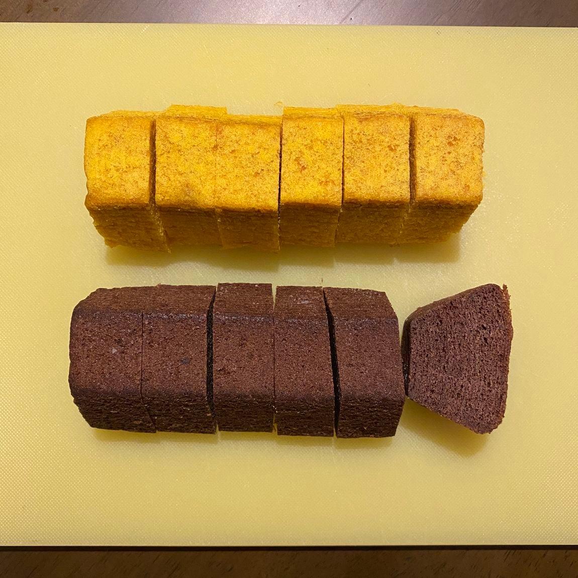 【新さっぽろサンピアザ】かぼちゃと塩チョコバウム