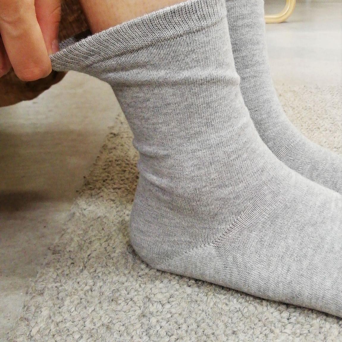 【山口】足なり直角靴下