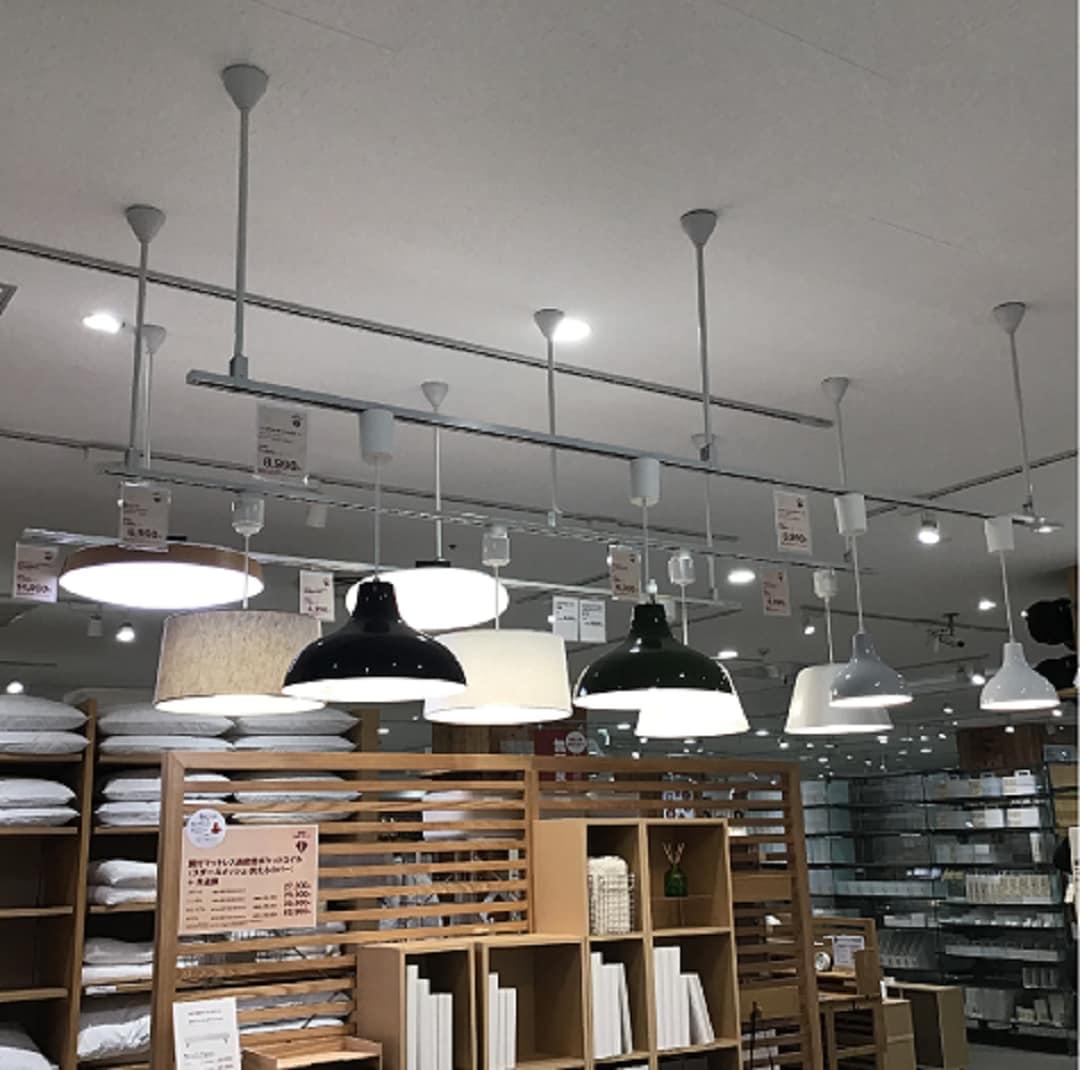 【ゆめタウン山口】照明展示売場