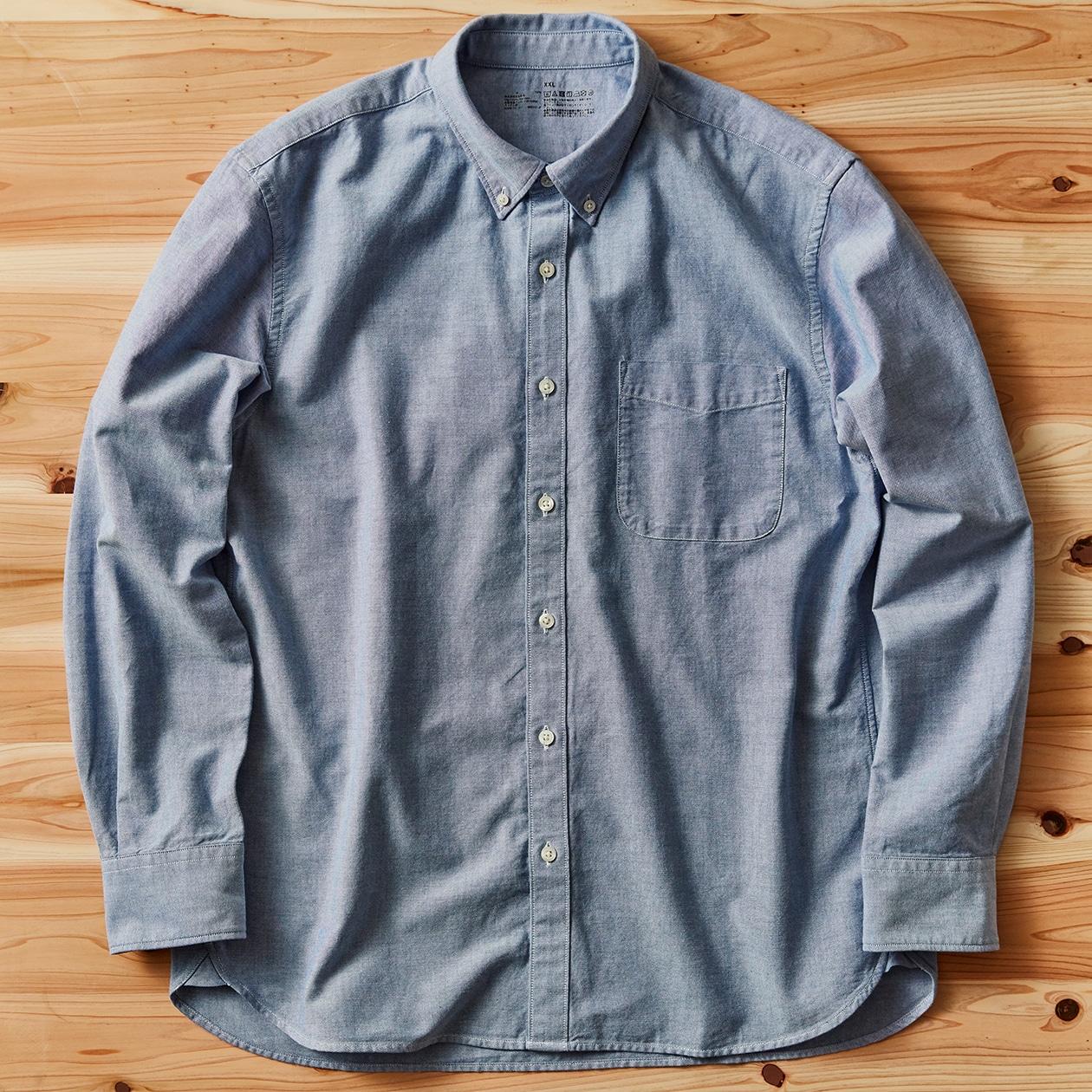 キービジュアル画像:【商品担当者が語る無印良品】オックスフォードのシャツ ②