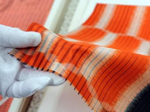 キービジュアル画像:富士山の麓に根づく、郡内織物