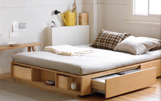 Beds from MUJI