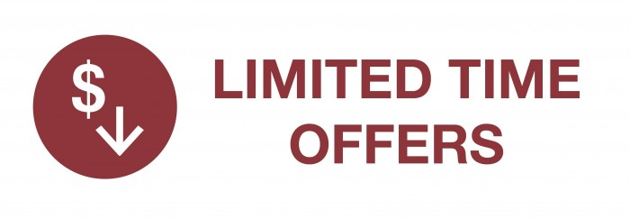 LIMITED TIME OFFERS - Copy
