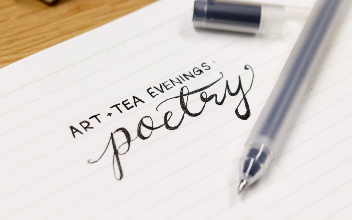 Art and Tea Evenings: Poetry
