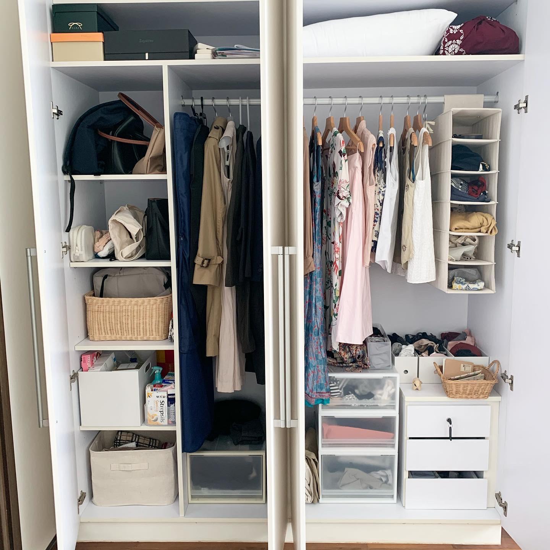 Wardrobe Organising (2)