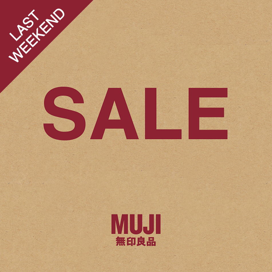 last weekend of sale