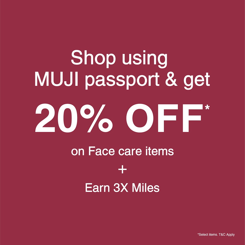 Skincare Week-02 MUJI passport