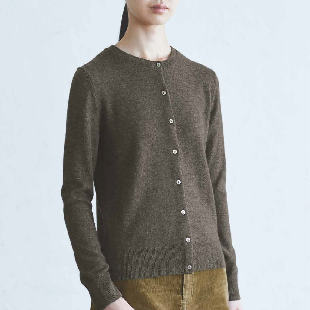MUJI Wool Silk Sweater Cardigan