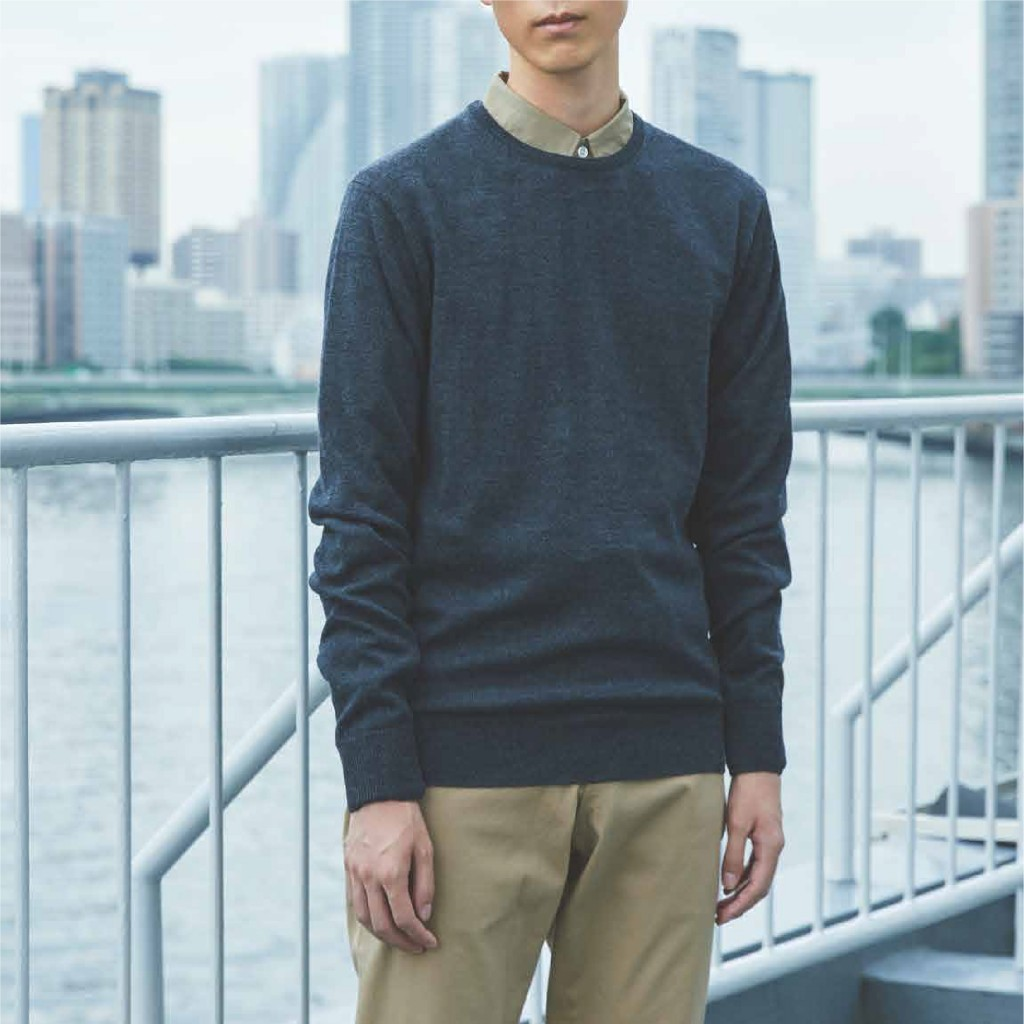 MUJI Merino Wool Sweater