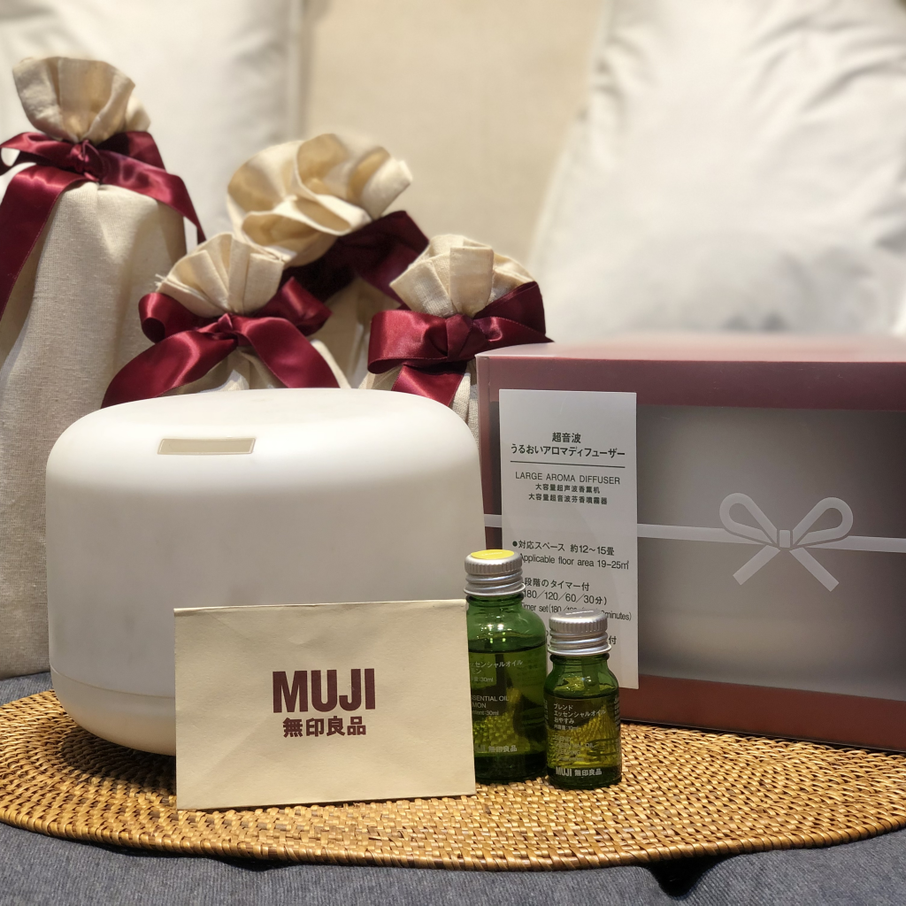 large aroma diffuser and essential oils II