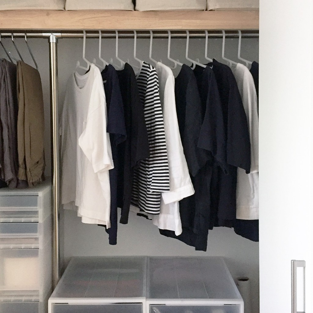 easy use clothes caring hangers from MUJI
