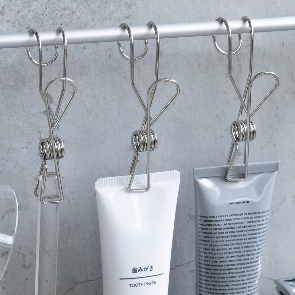 stainless steel clip from MUJI - hang type