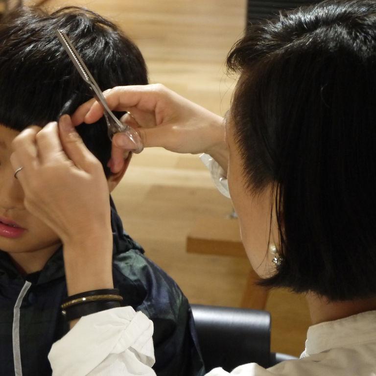 muji scissors for cuttring hair